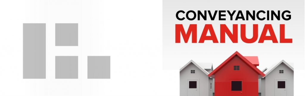 DBL Conveyancing Manual